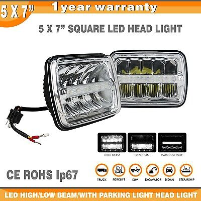 2pcs 5X7(7X6) inch Led  Headlight Fog lamp H/Low Beam For H6054 H6014 H6052 IP68
