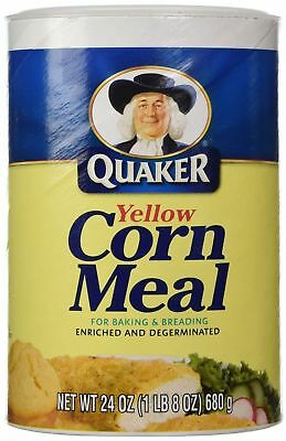 Quaker Yellow Corn Meal 680g (24oz)