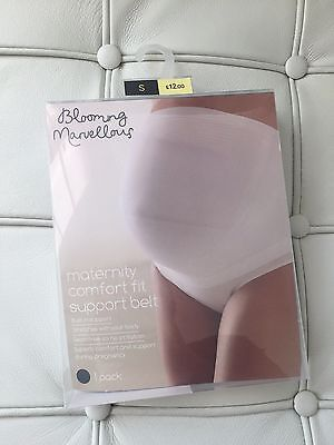 Mothercare Blooming Marvellous BLACK Maternity Support Belt Pregnancy Small S