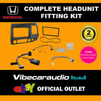 Connects2 CTKHD02 Honda Civic Hybrid 2006 > Car Stereo Double Din Fitting Kit
