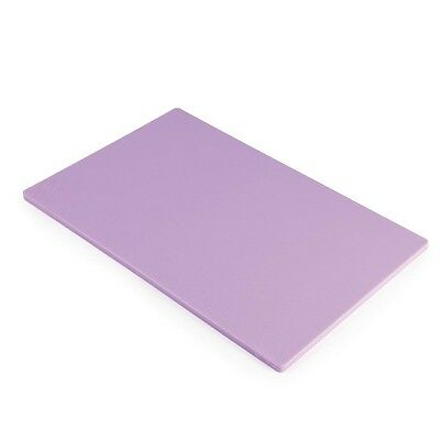 Hygiplas Standard Low Density Allergen Purple Chopping Board