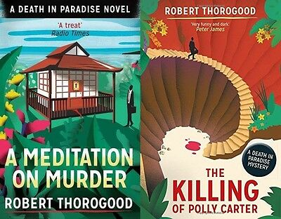 Robert Thorogood ___ 2 Book Set ____ Brand New ____ Freepost Uk
