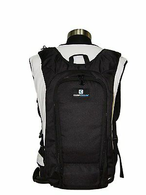 Compcooer Backpack Ice Water Liquid Cooling System, Liquid Cooling Vest, Easy to
