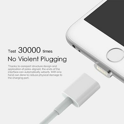 Magnetic Adapter Lightning Charger Charging Cable for iPhone 7 6S 6 5S