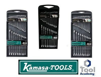 Kamasa Tools 2019 SALE Spanner Wrench Set 6-32mm In Spanner Rack - Shiny Chrome