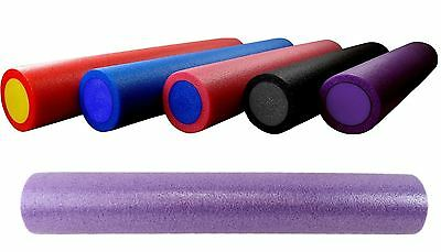 BodyRip PURPLE GRID FOAM MASSAGE ROLLER 90cm FITNESS REHAB PILATES YOGA EXERCISE