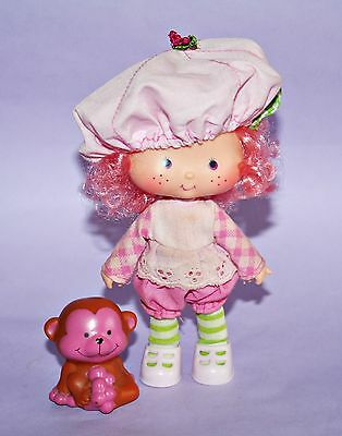 Emily Erdbeer Puppe / Strawberry Shortcake *Raspberry Tart with Rhubarb Monkey*