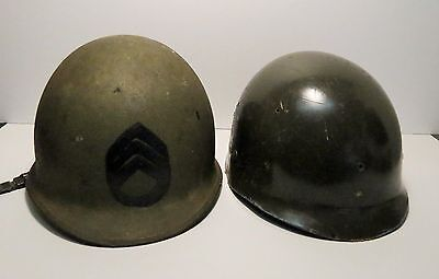 Post WW II Collectible US Army M1 Combat Helmet with Insert