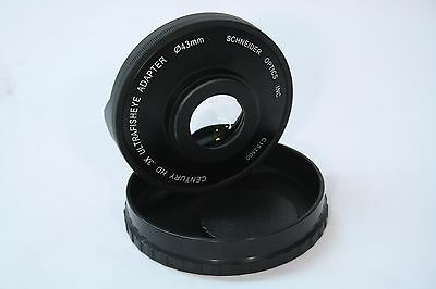 Century .3x HD Ultra Fisheye Adapter 43mm