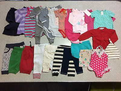 Baby Girls Clothing Bulk Size 000 Lot 1