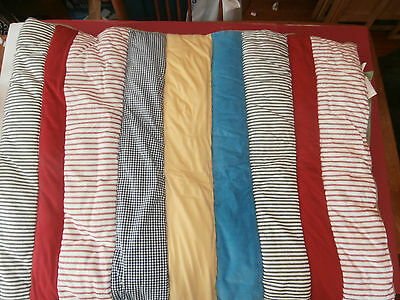 Pottery Barn Kids Dr. Seuss Twin Comforter Quilt Cat in the Hat Striped