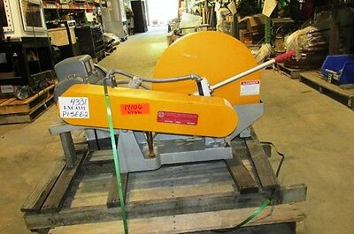 "Everette Chop Saw **New Unused**  7 1/2 HP 20"" to 22"""