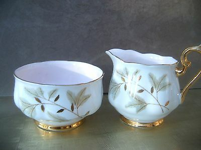 Royal Albert. Jug and Bowl. Pink, white, gilt.