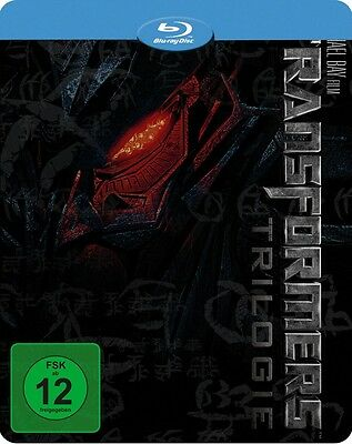 Transformers 1-3 Novobox Steelbook [Blu-ray] [Limited Edition] NEU & OVP