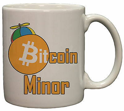 Bitcoin Minor 11 oz Coffee/Hot Cocoa Mug