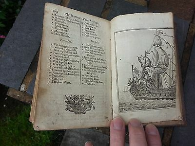 Antique 1757 Naval William Mountaine The Seamans Vade-Mecum Defensive War By Sea