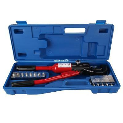 Mechanical Wire Cable Terminal Crimper 16-300mm2 Hydraulic Crimping Tool W/ Dies