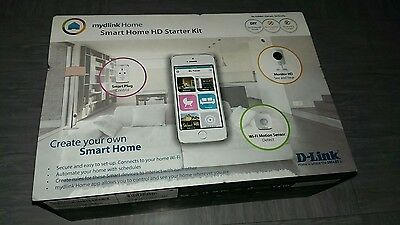 mydlink Home DCH-100KT/B Smart Home HD Starter Kit