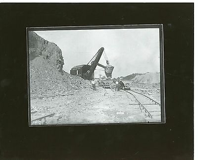 Vintage Photo Marion Electric Shovel Model 36 at work Allance Clay Works