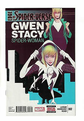 Edge of Spider-Verse #2 | 1st Print | 1st Appearance of Spider-Gwen | Marvel