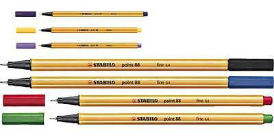 Stabilo Point 88 Fineliner !Mengenrabatt!