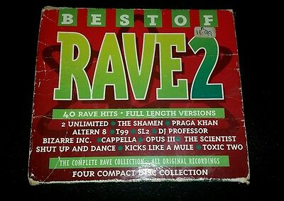 The Best Of Rave 2 4 Cd Album 1995