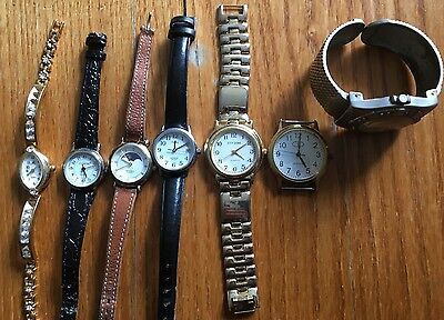 A Mixed Lot of Watches - Working and Spares/Repair
