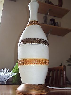 Large / Tall Vintage 1950's Table Lamp - PAT Tested & Ready For Use