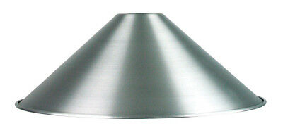 NEW Vicki 34cm Shade Only in Brushed Aluminium