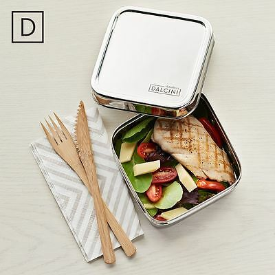 DALCINI Stainless Sandwich, lunch box, food container, non-toxic, eco-friendly