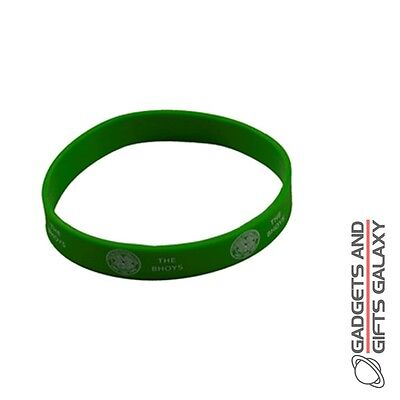 OFFICIAL CELTIC FOOTBALL CLUB RUBBER CREST WRISTBAND Sporting goods accessory