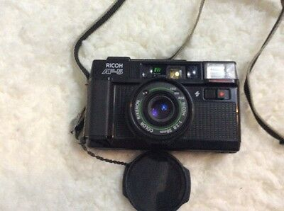 Ricoh Af-5 Vintage Point And Shoot 35Mm Film Camera With Strap