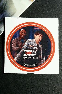 """Who's Line Is It Anyway Glee Cw Game Show Tv Small 1.5"""" Get Glue Getglue Sticker"""