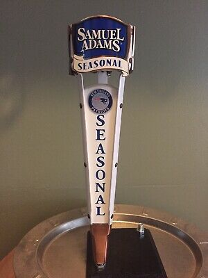 "Sam Adams Seasonal Beer Tap Handle Summer Ale & Other Inserts 13"" Tall"