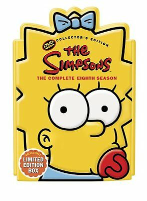 DVD ~ The Simpsons - Complete Eighth Season 8 (4-Disc Set, Bilingual) - NM