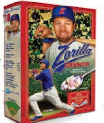 Zobrist  2016 Champion Edition Cereal 14oz Box LIMITED EDITION