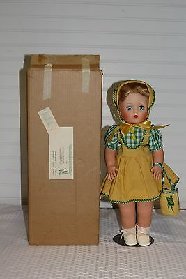 Super Rare 1950's Green Giant Farmette Corn Advertising Mail Order Doll Nib 17""