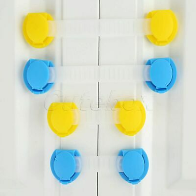 5/10pcs Baby Safety Child Lock Security Protection F Cabinet Wardrobe 2 Size