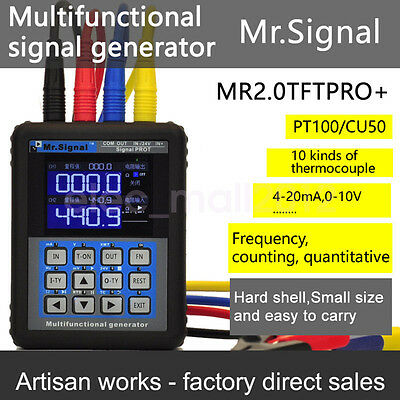 New 4-20mA Signal Generator Calibration Current Voltage Thermocouple Calibrator