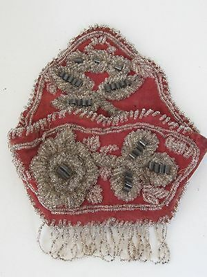Antique Iroquois Beaded Pocket