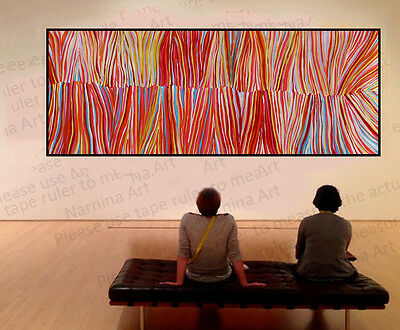 250cm by 100cm Huge contemporary abstract painting by Judy Narnina, G015