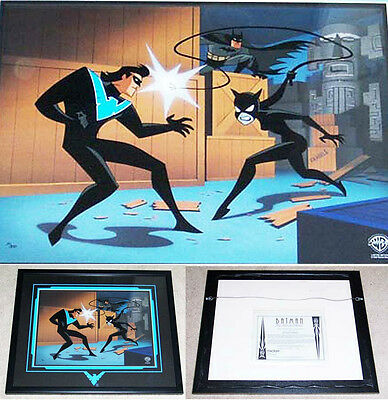 BATMAN The Animated Series NIGHTWING RETURNS Limited Edition Cel Catwoman WB