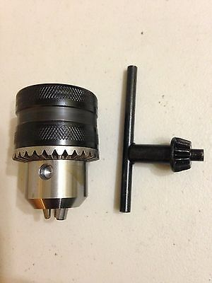Drill Chuck For Unimat 3 And Unimat 4 Lathes (M14 X 1 Thread )