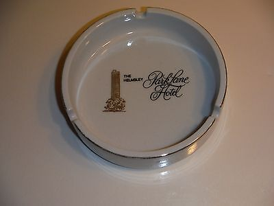 Vintage The Helmsley Parklane Hotel Ashtray