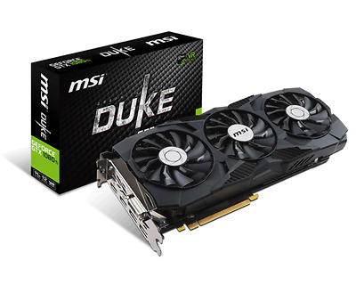 MSI Geforce GTX 1080Ti Duke OC 11G Graphics Card