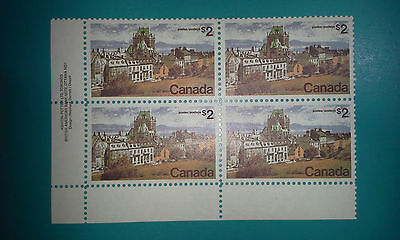 NEW Lot (4) Canada Stamp #601 2$ value