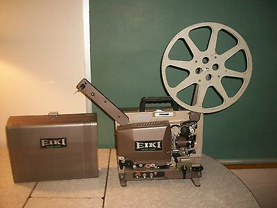 Eiki SNT-0 Slim Line 16MM Film Projector.  Tested in good working condition.