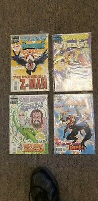 CLIVE BARKER HOKUM & HEX EctoKid Lot of 4 Bagged NICE!!!....