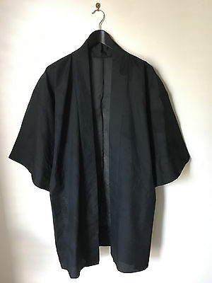 Beautiful Black Trasparent Silk Kimono! Size M!