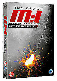 Mission: Impossible 1, 2 And 3 (DVD, 2011, 3-Disc Set, Box Set)